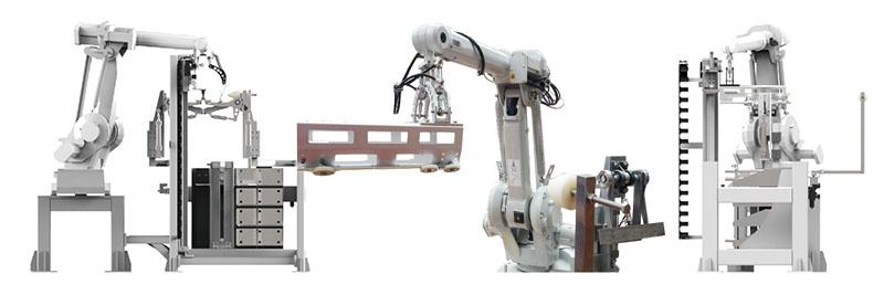 机器人上袋机